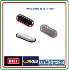 TASTO HOME PULSANTE CENTRALE SAMSUNG J3 2016 J320 J5 2016 J510 J5 J500 BIANCO WH
