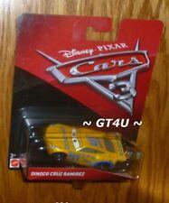 Disney Cars 3 Dinoco Cruz Ramirez Next Gen Racer McQueen's Trainer Diecast 1:55