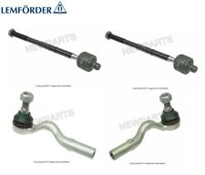 Mercedes W210 E300 Set of 2 Front Inner & 2 Outer Tie Rod Ends Lemfoerder
