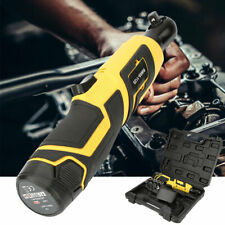 """Pro 12V 3/8"""" Cordless Electric Ratchet Wrench Right Angle Fastening Power Tool"""