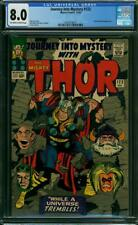 Journey into Mystery 123 CGC 8.0 -- 1965 -- Thor . A++ centering #2024578014