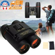 30x60 Binoculars Zoom Outdoor Travel Compact Folding Telescope Hunting Day/Night