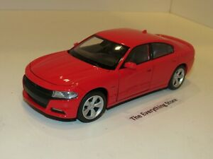 WELLY 2016 DODGE CHARGER HEMI R/T 1:24 BRIGHT RED USA FREE SHIP NO BOX