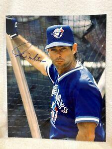 SWEET Paul Molitor Toronto Blue Jays AUTOGRAPHED 1990's 8x10 Photo #1, VERY NICE