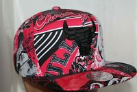 Chicago Bulls Mitchell & Ness HWC NBA Paysage Snapback,Hat,Cap      NEW