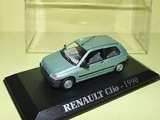 RENAULT CLIO I 3 Portes 1990 Vert Pale UNIVERSAL HOBBIES 1:43