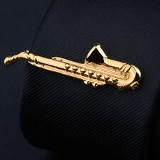 Saxophone tie clip,saxophone tie slide,instrument tie bar,music theme tie clasp