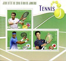 Madagascar 2016 neuf sans charnière Rio jeux olympiques de Tennis Andy Murray 3 V M/S Sports timbres