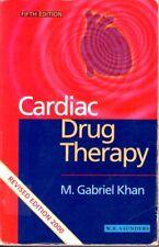 Manual of Cardiac Drug Therapy by M.I.Gabriel Khan (Hardback, 1988)