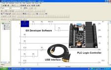 PLC Controller Kit Ladder Logic Board, Software Programmable interface USB RS232