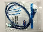 NEW Blue 5ft 1.5M USB 2.0 A Male to A Female Extension Extender Cable