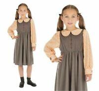 Viktorianisch Schulmädchen Kinderkostüm Buch Woche Kostüm