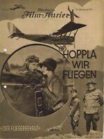 BFK 836   HOPPLA, WIR FLIEGEN   Monty Banks, Jean Arthur   Stummfilm
