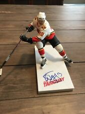 Signed Alex Tanguay Mcfarlane  NHL  Series 13 Figure Autographed