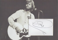 BARRY GIBB Signed 12x8 Photo Display THE BEE GEES STAYIN' ALIVE COA