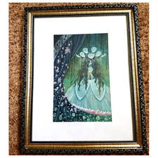 Framed original Illustration art painting ghost bride of minos disney artist
