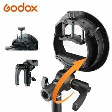 Godox S Type Bracket Bowens Holder Mount Studio Flash Light NEW