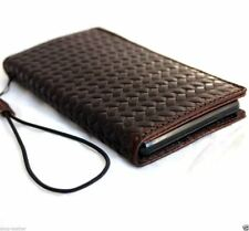 genuine leather Case for apple iphone 6s book wallet handmade cover art rubber