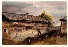 Künstlerkarte ~1940/50 Innviertler Hof bei St. Marienkirchen E.A. v. Mandelsloh