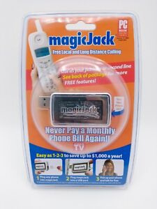 Magic Jack USB PC Landline Phone Long Distance Calling Device AS SEEN ON TV NEW!