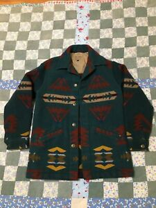 Vintage Pendleton high grade western wear Coat Jacket size small Made in USA