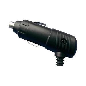 Car Cigarette Lighter Socket Angle Plug Connector 12v Male 5A with LED CAR VAN