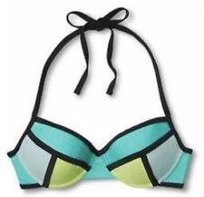 Color Block Yellow Bikini Top Swimwear for Women for sale   eBay
