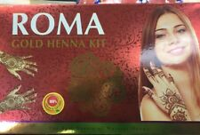 100% Natural Herbal Henna Cones Temporary Tattoo Kit With Stencils