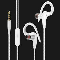 3.5mm In-Ear Earphones Sweatproof Bass Stereo Headphone Headset Earbuds With Mic