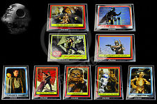 "2015 Star Wars Celebration Topps EXCLUSIVE Vintage 9 Card Set LE100 5""x7"" - RARE"