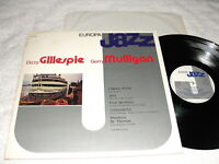 "Dizzy Gillespie & Gerry Mulligan ""Europa Jazz"" 1981 Jazz LP, VG+, Italy Press"