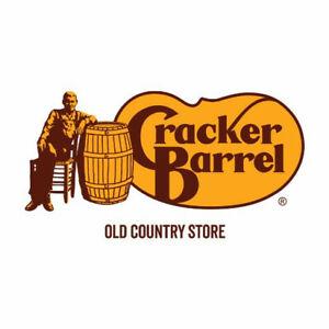 Cracker Barrel Gift Card -  $100.00