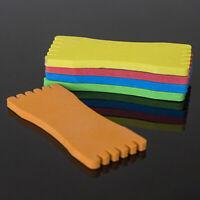 10 Pcs Convenient Foam Fishing-Line Plate Board Spools Fishing Tackle Candy