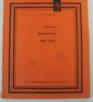 Schule Böhmflöte Emil Prill op.7 Zimmermann-Schule Nr.25 Notenbuch B14615