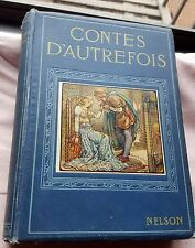 ca 15 Contes D'Autrefois - Scandinavian legends in French  ill. by Frank Pape