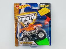 Hot Wheels Monster Jam El Toro Loco X-Ray Body 1/64th Monster Truck Stunt Ramp