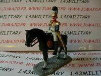 JK3D CAVALIER de plomb DEL PRADO 1/32 : OFFICIER Guarde Royale Anglaise 1833