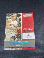 2016-17 Panini Contenders Draft Picks Old School Colors #19 Stephen Curry