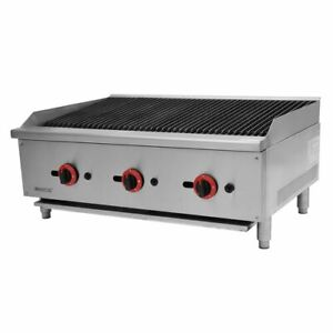 Hamoki Gas Chargrill 36 Inch/Flame grill /Char Broiler /New / lPG or Nat Gas NEW