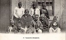 C0876msr Australia Tasmanian Aboriginals Beattie vintage postcard