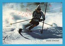 Erwin Stricker (†) (ITA) - SKI ALPIN-ITALIA - # 10670