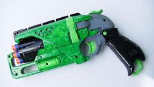 Custom Painted Modified Nerf Hammershot Gun With Darts