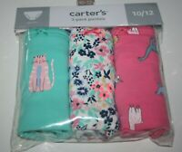 New Carter/'s Girls 7 Pack Pairs Underwear Panties 3T 5T 6X 8 12 14 yr Solid Dots