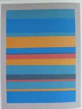 Josef Albers Original Silkscreen Folder XVIII-7 Left Interaction of Color 1963