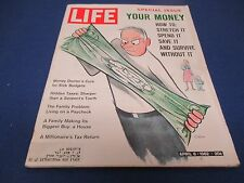 Life Magazine, April 6, 1962, Your Money - How to Stretch It, Spend It, Save It