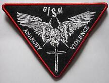 GISM embroidered red patch Zouo Death Side Systematic Death Gauze The Clay