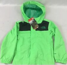 The North Face Boys YOUTH Zipline Outdoor Rain Jacket Electric Green Size XL