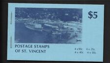 ST VINCENT, 1979 $5  BOOKLET SG SB9  MNH, COMPLETE