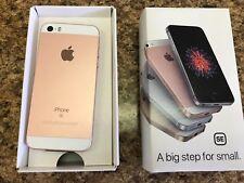Factory Unlocked Apple iPhone SE - 64GB 4G LTE GSM World Phone - Rose Gold