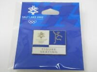 Olympic Figure Skating Pin Salt Lake City 2002 Nice Design